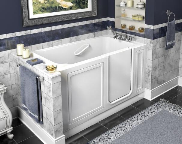 best kansas city walk−in bathtub installer   cain's mobility mo